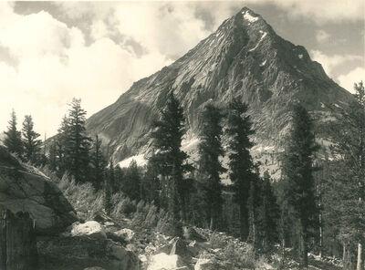 Ansel Adams, 'East Vidette, Southern Sierra', c. 1927