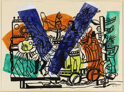 Fernand Léger, 'Étude pour 'La grande parade'', 1953