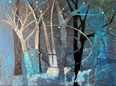Enriqueta  Ahrensburg, 'Blue Forest', 2020