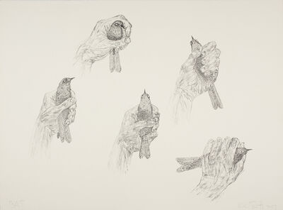 Kiki Smith, 'Bird in Hand', 2009