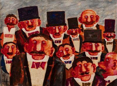Franz Borghese, 'Uomini'