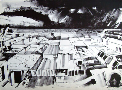 John Hultberg, 'Broken Field', nd