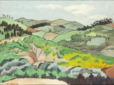 Alberto Magnelli, 'Tuscan landscape', 1924