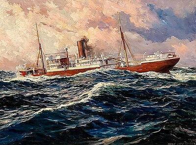 Anton Otto Fischer, 'Merchant Vessel', 1941