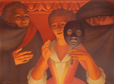 George Tooker, 'Un Ballo en Maschera', 1983
