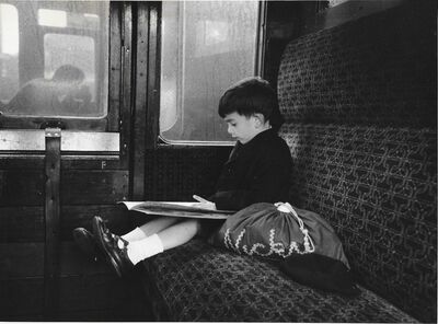 Erich Hartmann, 'Nick im train', ca. 1970