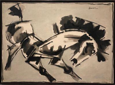 M. F. Husain, 'Untitled (Horse)', 1960s