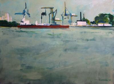 Lee Lippman, 'Loading on the Delaware', 2001
