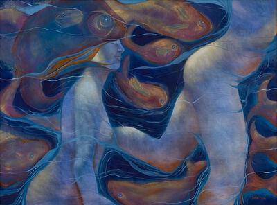Susan Reid Danton, 'Swimming with Cetaceans', 2014