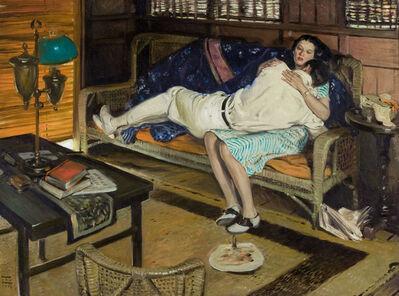 Harold Von Schmidt, 'Cosmopolitan Illustration', 1926