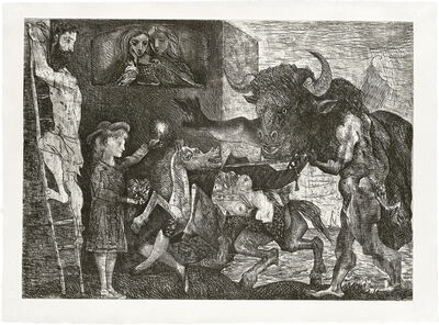 Pablo Picasso, 'La Minotauromachie', 1935