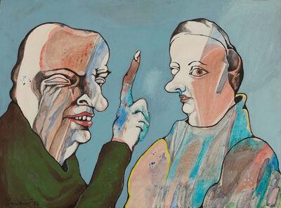 Lucebert, 'Blinde Jaloezie', 1964