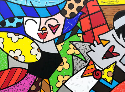 Romero Britto, 'ALL NIGHT LONG', 2005