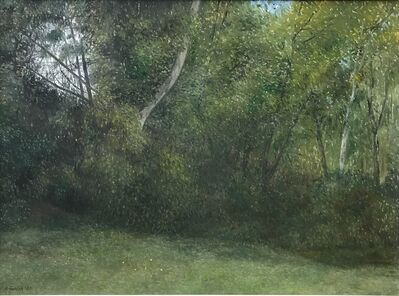 Richard Eurich, 'Our back garden', 1983