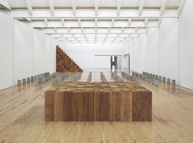 Carl Andre, 'Sculpture as Place, 1958-2010 (Installation view)', 1958-2010