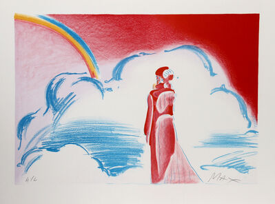 Peter Max, 'Rainbow and Clouds', 1981