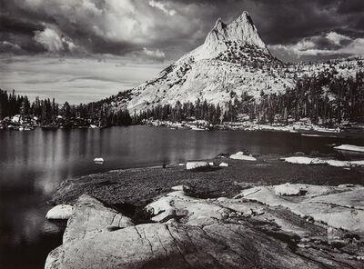 Ansel Adams, 'Cathedral Peak and Lake, Yosemite National Park, California', 1960