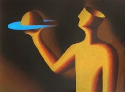 Mark Kostabi, 'At Your Service', 1991