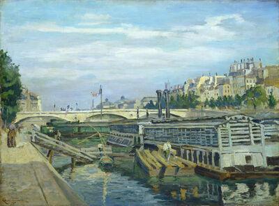 Jean Baptiste Armand Guillaumin, 'The Bridge of Louis Philippe', 1875