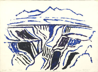 Lawrence Calcagno, 'Gorge Taos', 1980