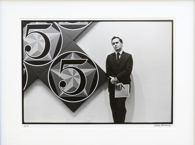 William John Kennedy, 'Robert Indiana with X-5', 1964