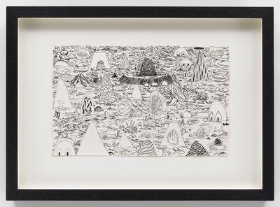 Trenton Doyle Hancock, 'Cave Scape #4', 2010