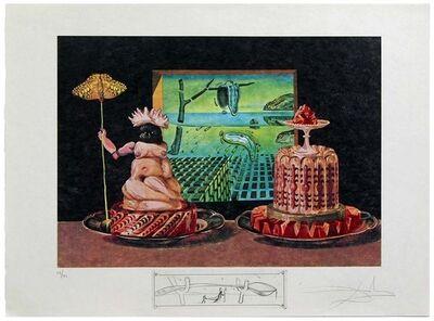 "Salvador Dalí, 'Les ""Je mange GALA""', 1971"