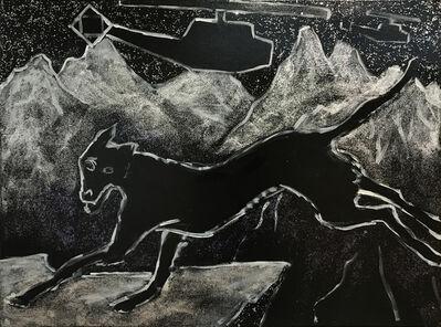 George Gittoes, 'Dog', 2017