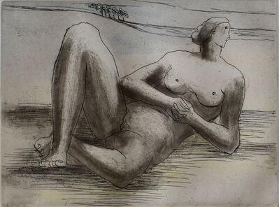 Henry Moore, 'Reclining Figure VIII', 1977