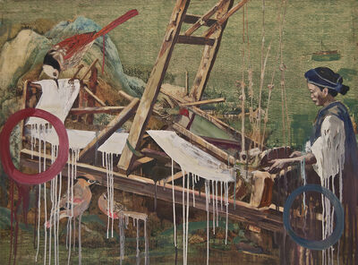 Hung Liu, 'Weaver', 2015