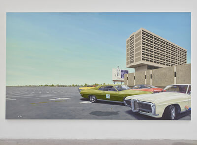 Eric White, 'Center 1968 Pontiac Grand Prix', 2018