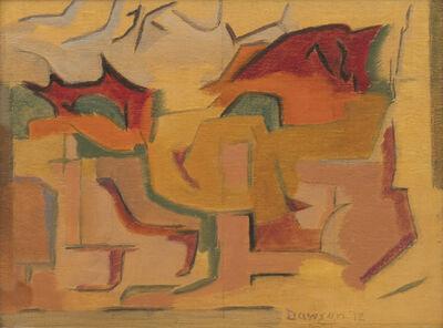 Manierre Dawson, 'Dependent Impression', 1912