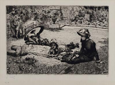 James Jacques-Joseph Tissot, 'En Plein Soleil', 1881