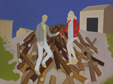 Elizabeth Fox, 'Sneaking Out the Wood Pile', 2017