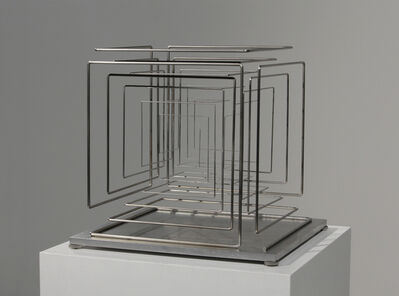 Martin Willing, 'Konischer Stab, zum Kubus gekantet', 2017
