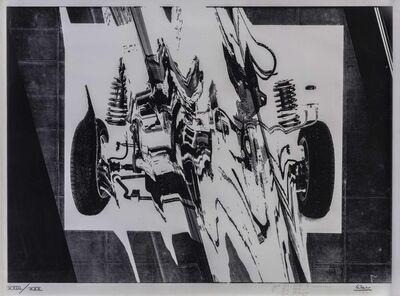 César, 'Voiture compressée', 1972