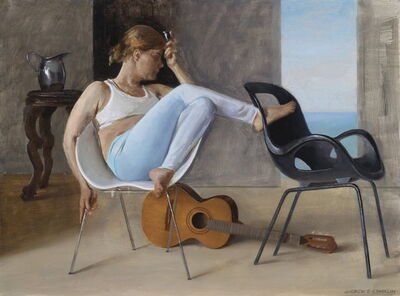 Andrew S. Conklin, 'Ashley with Guitar', 2020