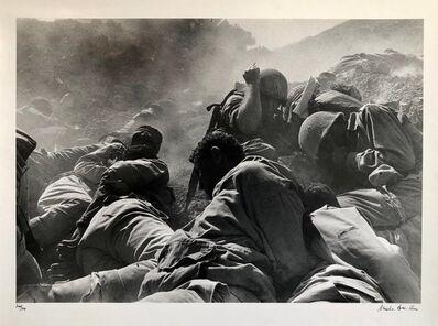 Micha Bar-Am, 'Vintage Silver Gelatin Print Artillery Barrage, Suez Canal, Yom Kippur War 1973', 1970-1979