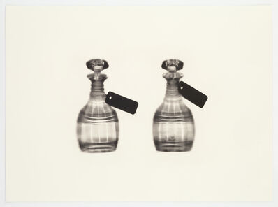 Cornelia Parker, 'Fox Talbot's Articles of Glass (tagged decanters)', 2016