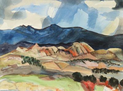 William Thomas Lumpkins, 'High Desert Series, Azul', 1973