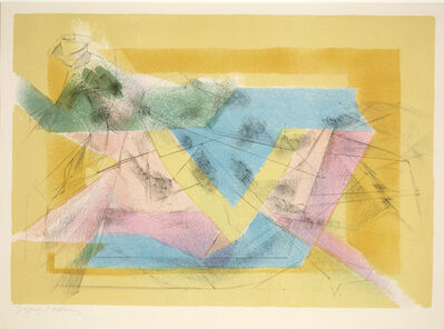 Jacques Villon, 'L'Ecuyere (The Equestrienne)', 1950