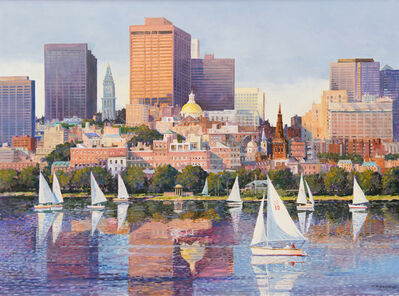 Frederick Kubitz, 'Historic Statehouse, Boston MA', 2018