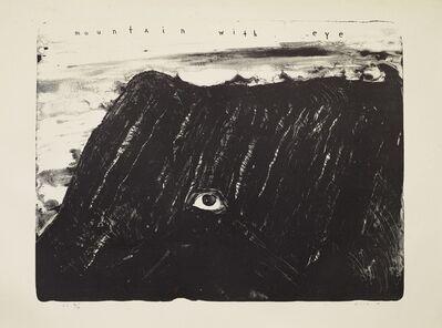 David Lynch, 'Mountain with Eye', 2009