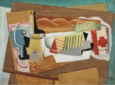 Henri Hayden, 'Nature morte à la bouteille de lait', 1917