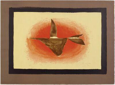Georges Braque, 'Au couchant (Oiseau XVI)', 1958