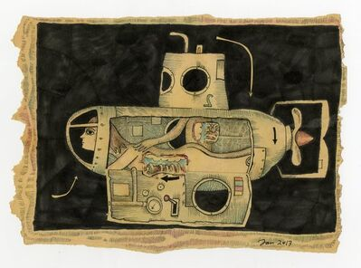 Turner G. Davis, 'Anatomies- The Submarine', 2015