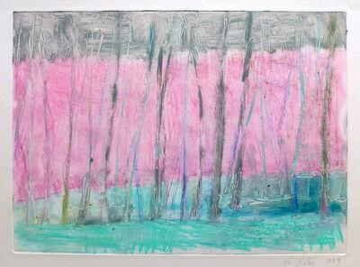 Wolf Kahn, 'Pale Pink', 1989