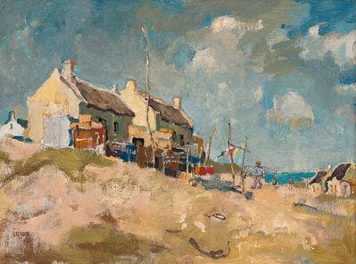 Gregoire Johannes Boonzaier, 'Fishermen's Houses, Waenhuiskrans', 1961
