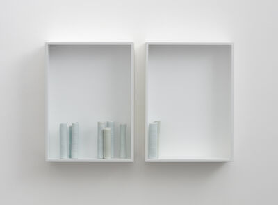 Edmund De Waal, '- and gone -', 2015
