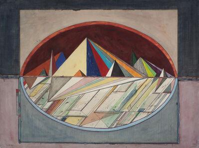 Robert S. Neuman, 'Mirage Drawing', 1972